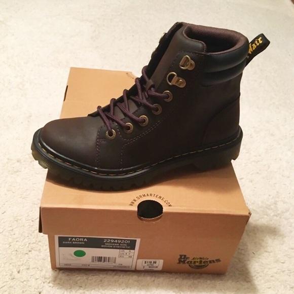 """78c551390483 Dr. Martens """"Faora"""" combat boots."""